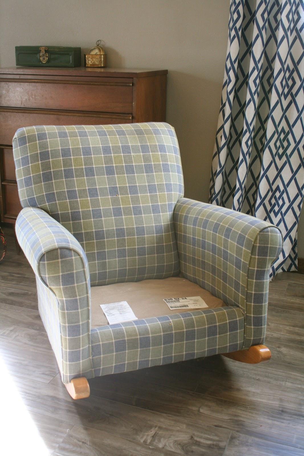 Rocking Chair Slipcovers For Nursery Shermag Custom By Shelley Chevron Rocker