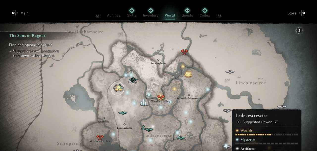 Ingot 20 Map