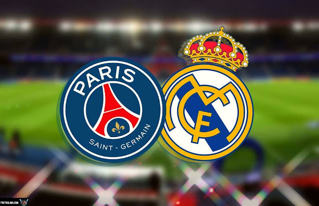 psg vs real madrid line up