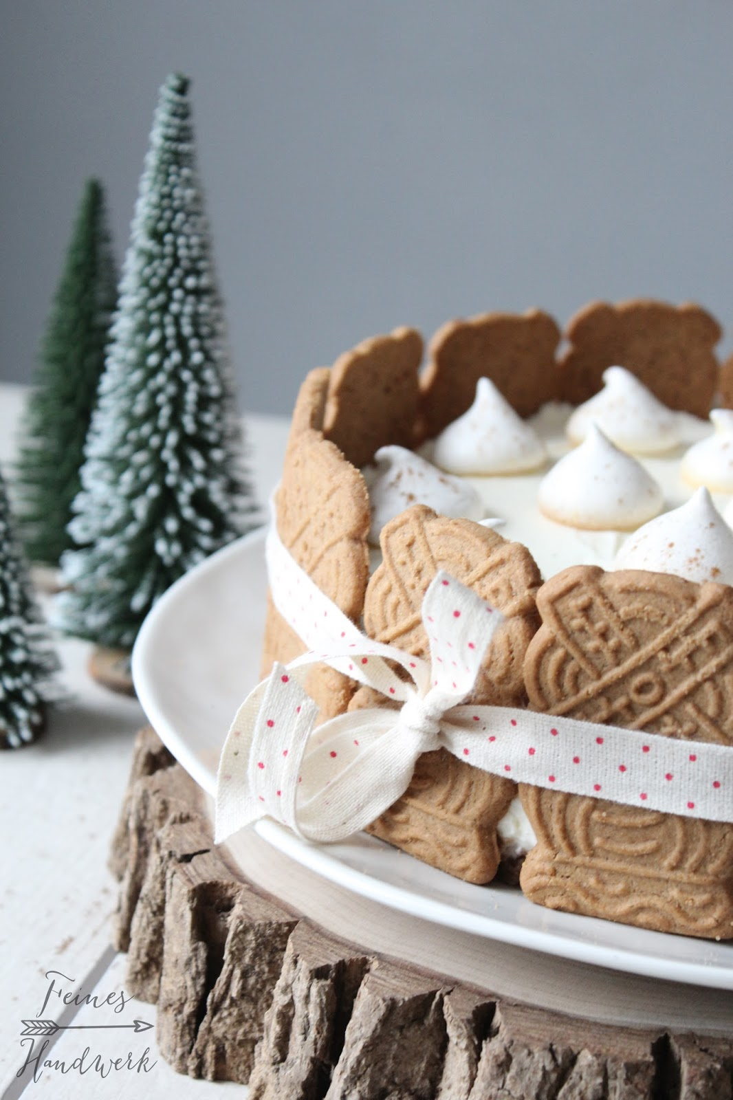 Feines Handwerk: Frohe Weihnachten - Spekulatius Torte