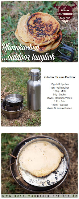 Outdoor Kitchen Pfannkuchen Rezept outdoor camping