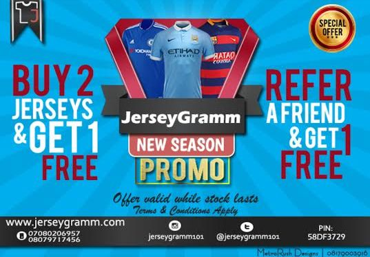 a2b9813b303 Jersey promo from JerseyGramm. It s on   taking place here!