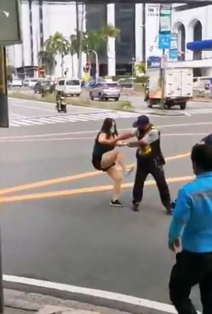 Chinese National nanakit sa traffic enforcer posibleng ma-deport