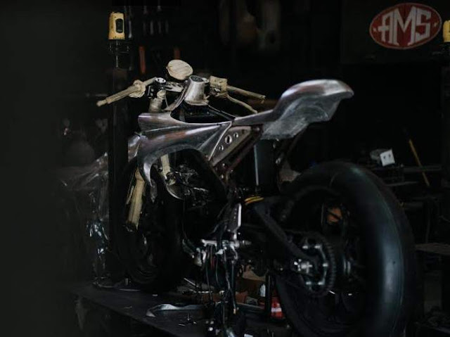 Modifikasi XSR 155 caferacer Ala AMS Garage
