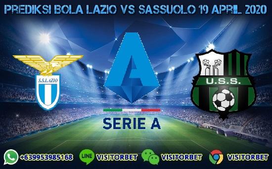 Prediksi Skor Lazio vs Sassuolo 19 April 2020