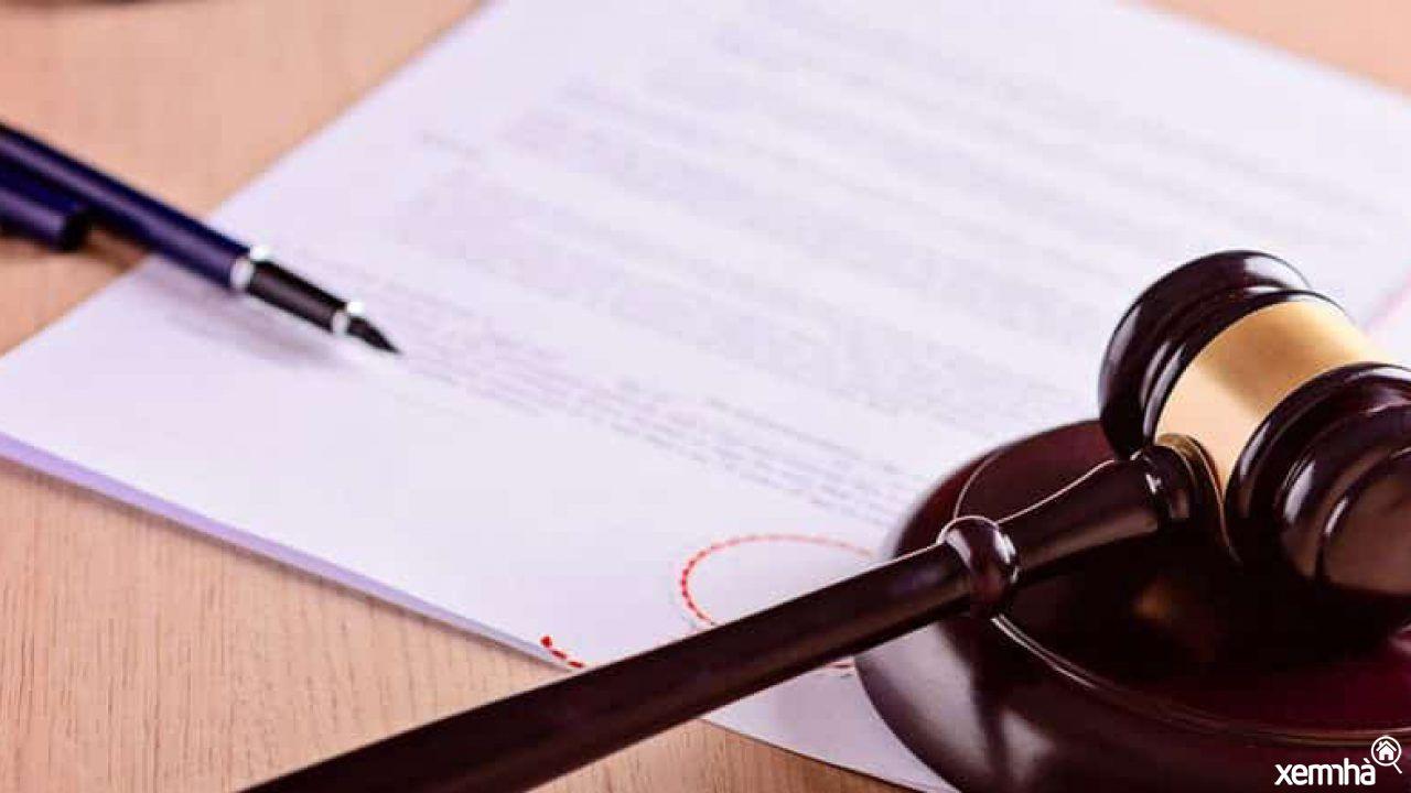 Pháp lý dự án bất động sản