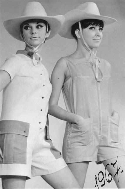 Рижские моды. 1967 год.