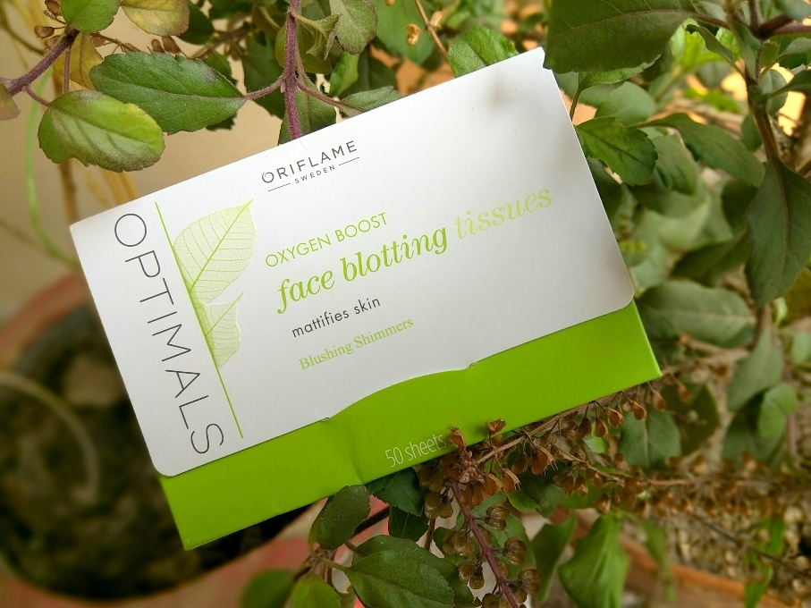 Oriflame Oxygen Boost Face Blotting Tissues