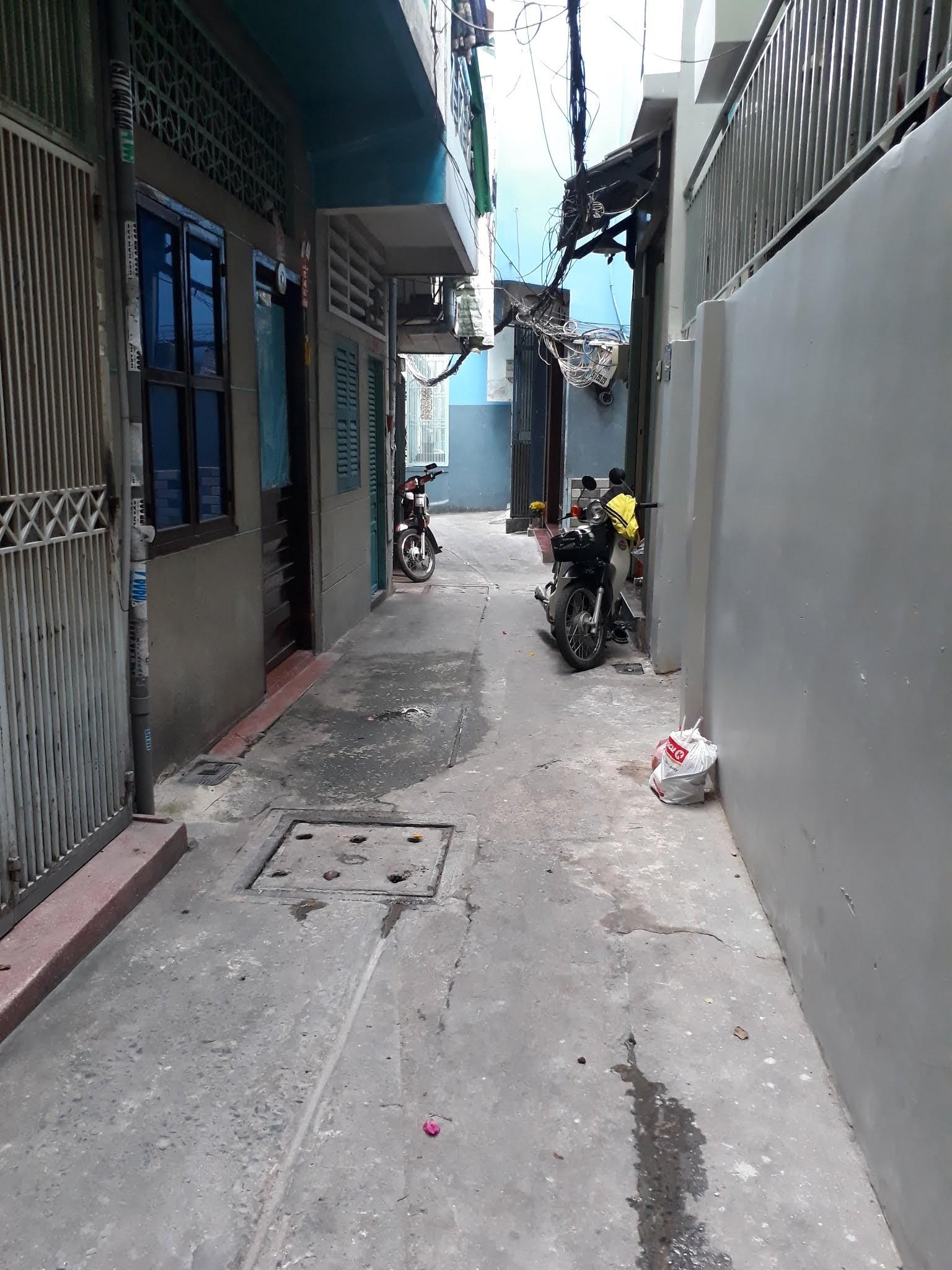 Bán nhà hẻm Trần Hưng Đạo Quận 1, kế bên phố đi bộ Bùi Viện