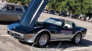 1978 Chevrolet C3 Corvette Pace Car Front Angle