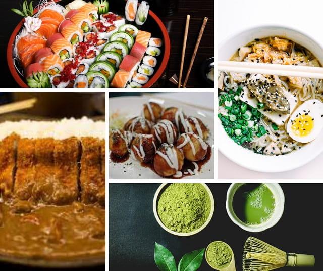 o que comer japão