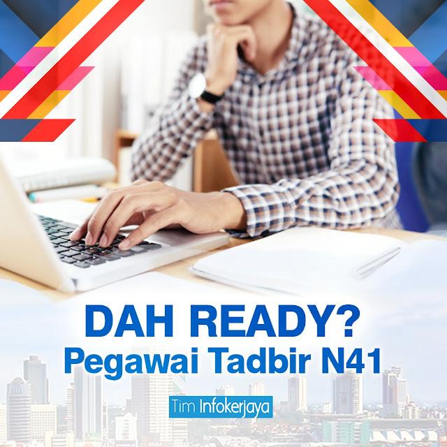 Rujukan Peperiksaan Online Pegawai Tadbir N41 Negeri Johor