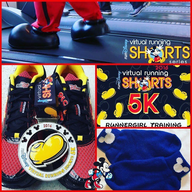 run disney virtual race shorts 5k mickey mouse