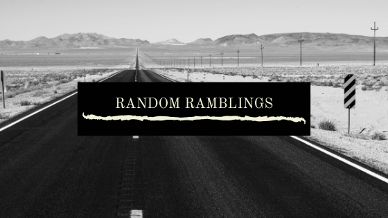 Random Ramblings - Goals for 2020!