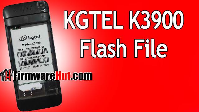 KGTEL K3900 Flash File SC6531E Tested (Stock Official Rom)