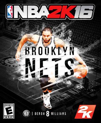 NBA 2K16 Custom Covers - Brooklyn Nets