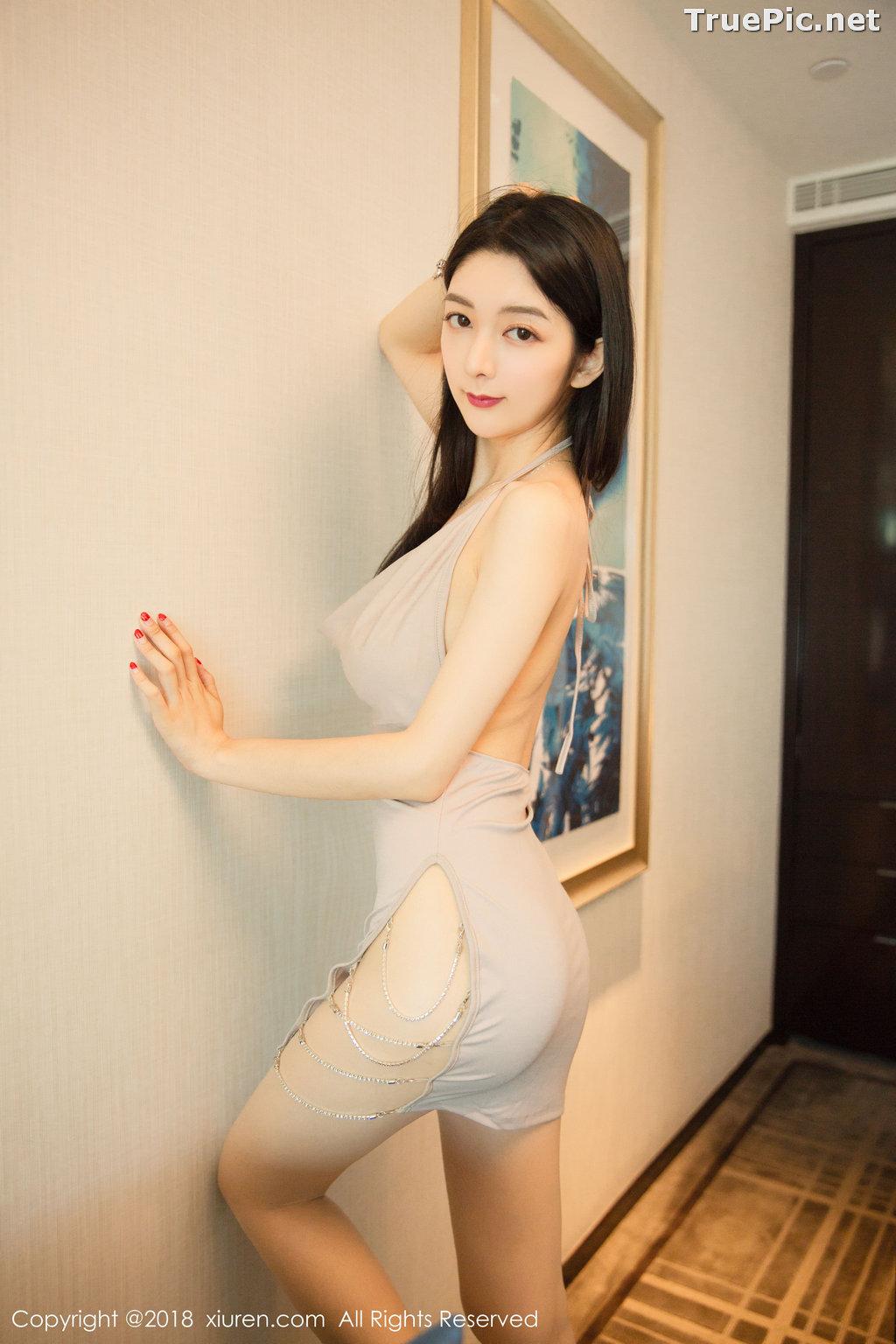 Image XIUREN No.1141 - Chinese Model - Xiao Reba (Angela小热巴) - Sexy Dress Tonight - TruePic.net - Picture-14