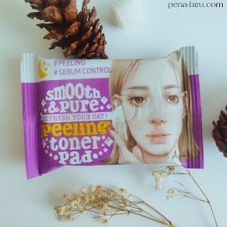 Review Ariul Peeling Toner Pad