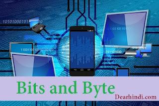 bits,bytes,kilobytes,mb,kb