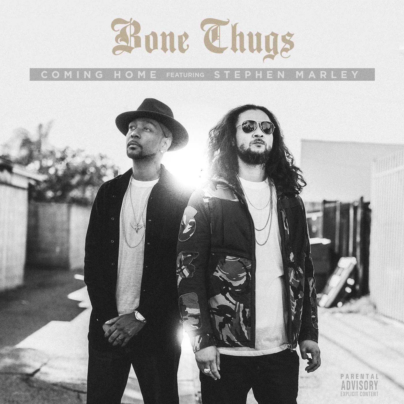 Bone Thugs-n-Harmony - Coming Home (feat. Stephen Marley) - Single Cover