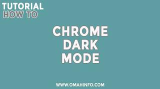 Cara Aktifkan Dark Mode Chrome