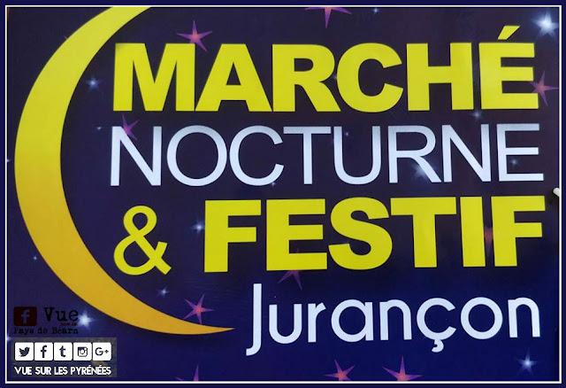 Marché nocturne festif jurancon 2018