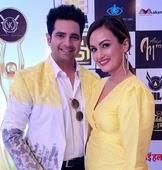 nisha rawal with her husband karan mehra
