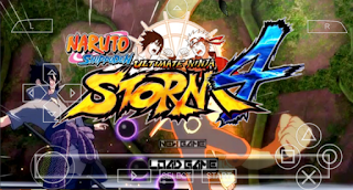 Naruto Ultimate ninja Storm 4 PSP