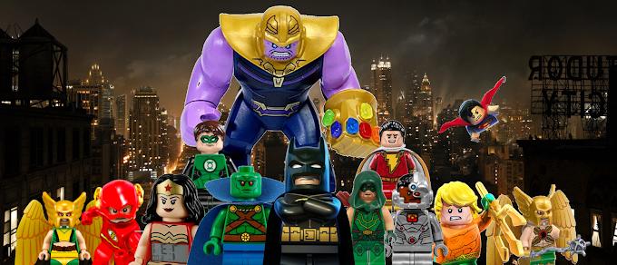 Thanos vs Justice League