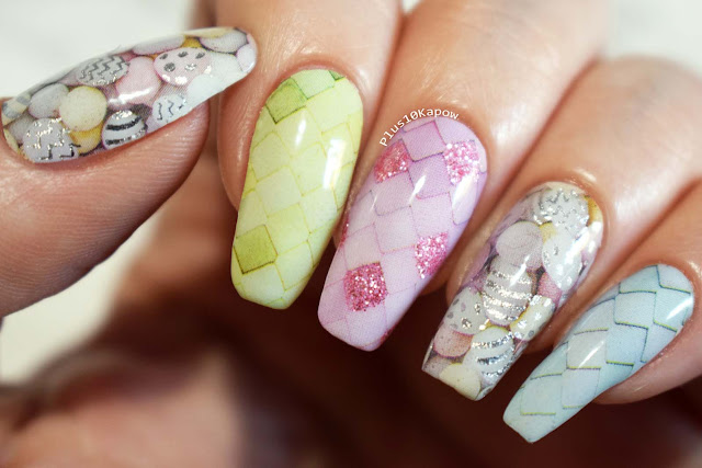 Espionage Cosmetics Egg-Citing Manicure Easter Eggs Nail Wraps