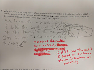 Student's creative answer to a tough question