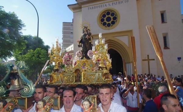 Suspenden la procesión de la Virgen del Carmen de Huelin