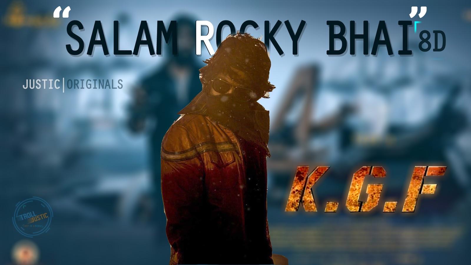 8D Aud Salaam Rocky Bhai Song — Pixlcorps