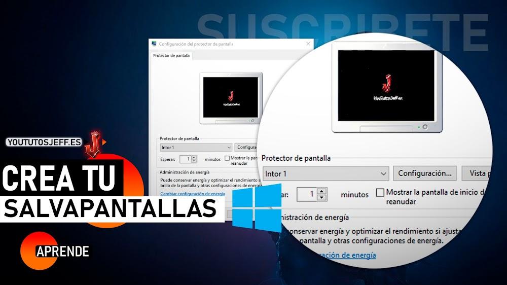 Como Poner un Video como Salvapantallas de Windows 10