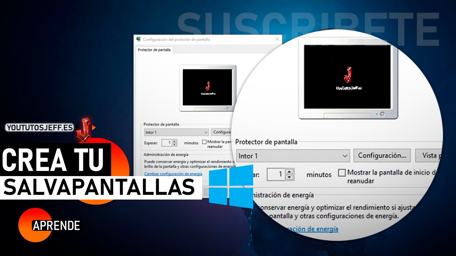 Como Poner un Video como Salvapantallas de Windows 10