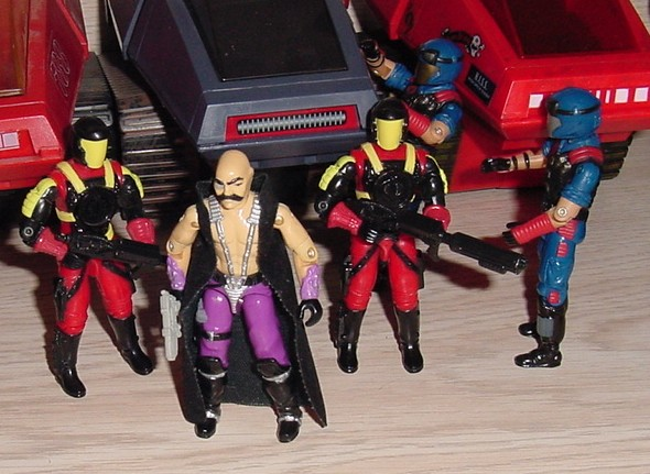 1993 Crimson Guard Commander, 1986 Dr. Mindbender