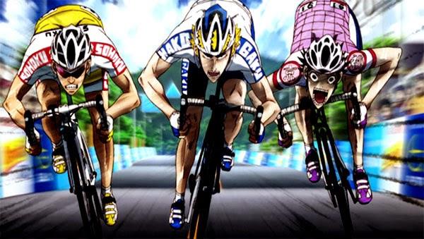 Yowamushi Pedal - anime terbaik fall 2014