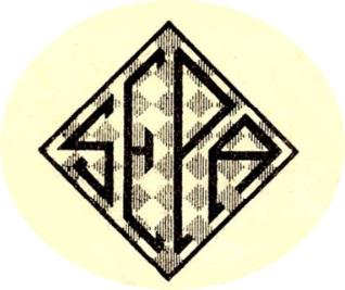 Primer emblema de la SEPA