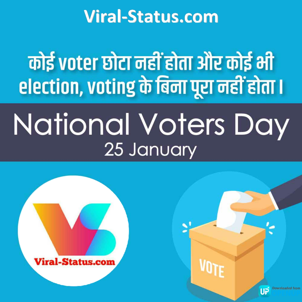 national voters day posters