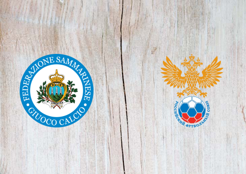 San Marino vs Russia -Highlights 19 November 2019
