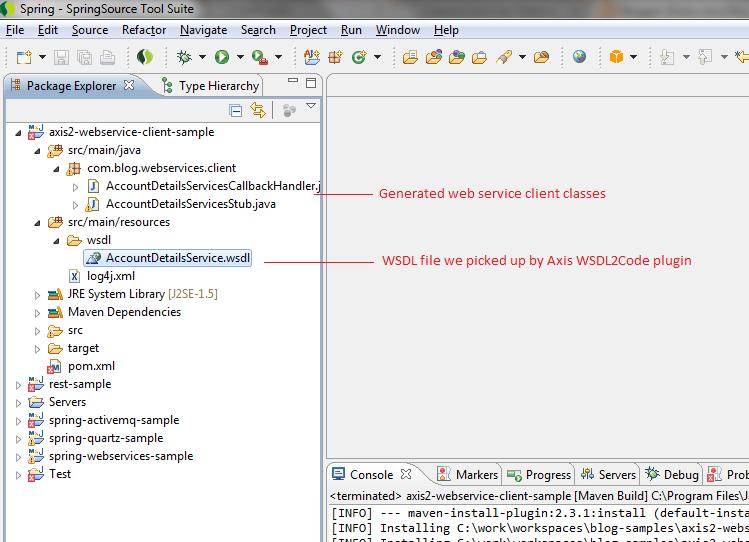 Axis2 Web Service Client Tutorial - briansdevblog