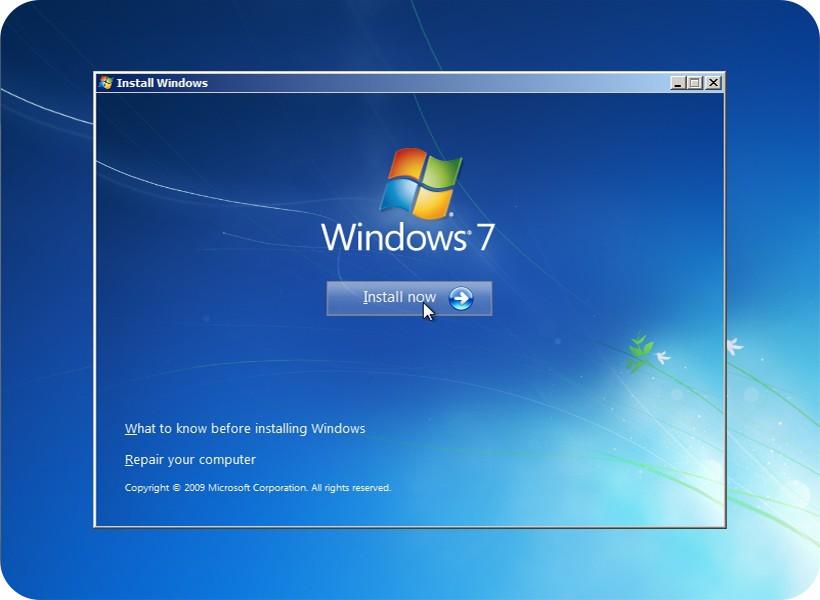 كيفية تسطيب ويندوز 7 من اسطوانة او فلاشة USB علي الكمبيوتر بدون مشاكل