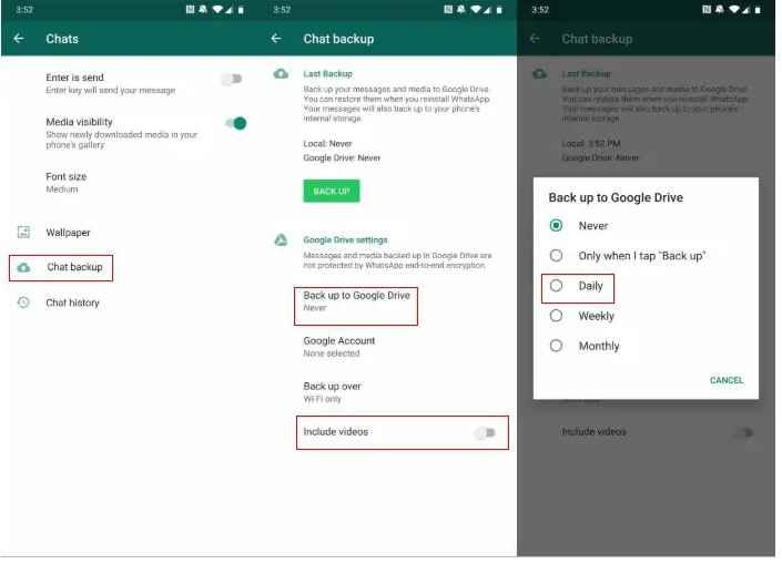Penyebab Dan Cara Mengatasi Tidak Bisa Mencadangkan Backup Chat Whatsapp Kupas Habis
