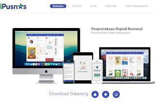 ipusnas-perpustakaan online yang dapat diakses secara elektronik