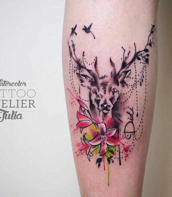 88 tatuagens incríveis para a panturrilha!