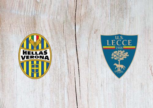 Hellas Verona vs Lecce -Highlights 26 January 2020