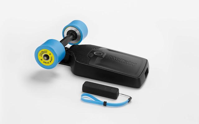 the Mellow Drive electric skateboard kit