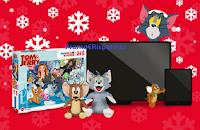 """Concorso Boomerang TV """"La tombola di TOM & Jerry"""" : vinci gratis TV Samsung, Tablet, Puzzle Clementoni e Peluches Grandi Giochi"""