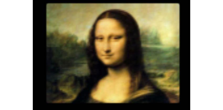 Mona Lisa CSS Design Paintings