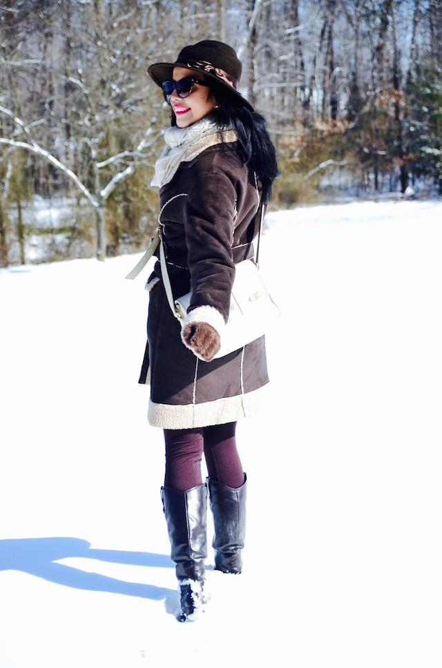 Snowy Day - jonas storm - winter style - mari estilo - look of the day - snowy outfit